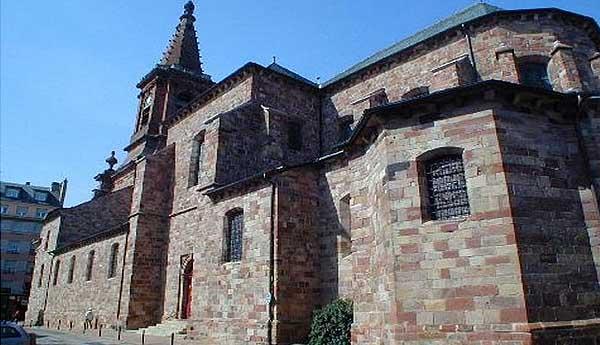 Церковь Сент-Аман де Родез (Église Saint-Amans de Rodez)