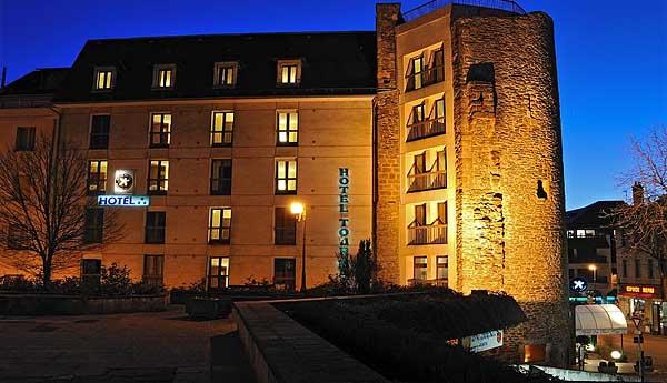 Отель Inter-Hotel de La Tour Maje 3* (Родез, Франция)