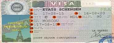 Как читать шенгенскую визу