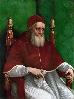 Папа Римский Юлий II в 1503 - 1513 г.г.