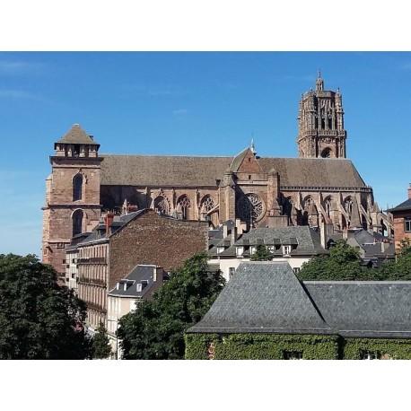 Собор Нотр-Дам де Родез (Cathédrale Notre-Dame de Rodez): Родез, Авейрон
