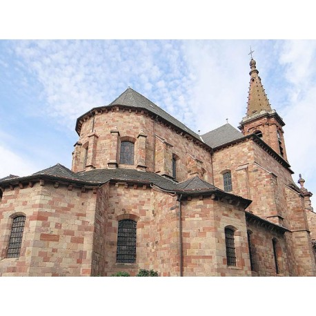 Церковь Сент-Аман де Родез (Église Saint-Amans de Rodez): Родез, Авейрон