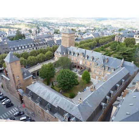 Епископский дворец в Родезе (Palais épiscopal de Rodez): Родез, Авейрон